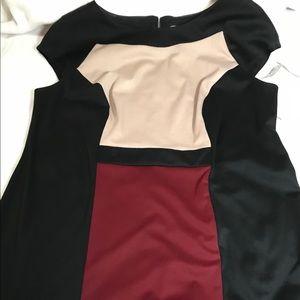 New color block dress